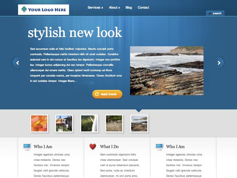 Bald Guy Studio template images business