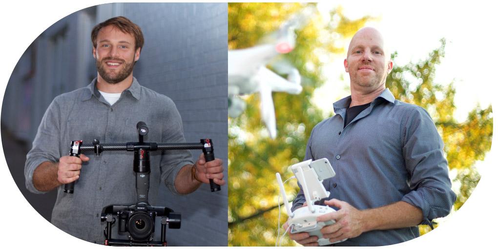 Sam Kempf and Kirby Martin, Videographers